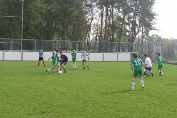 Kids football in Kiraly